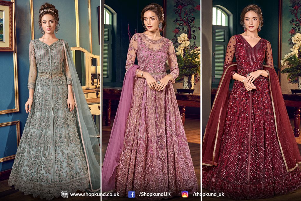 Latest Anarkali Dresses Online UK - Shopkund
