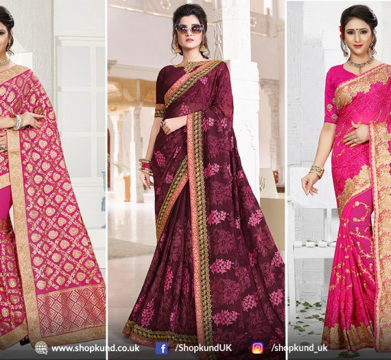 4 New Styles Of Bridal Sarees In Wedding Fashion Couture