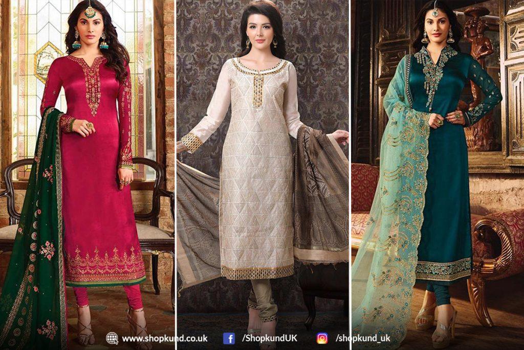 churidar suit online