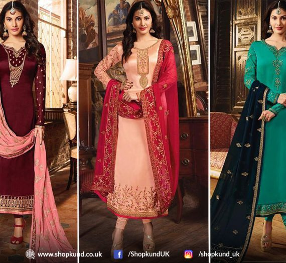 Types Of Churidar Suits Great For Wedding Occasions