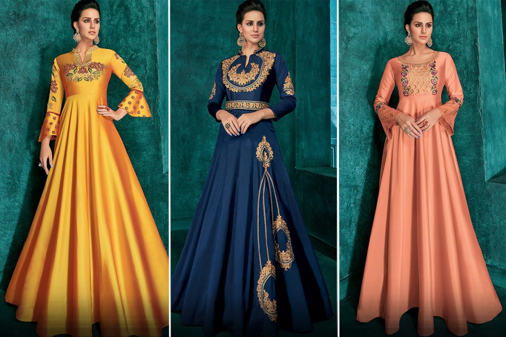 Gown Style Anarkali Suits