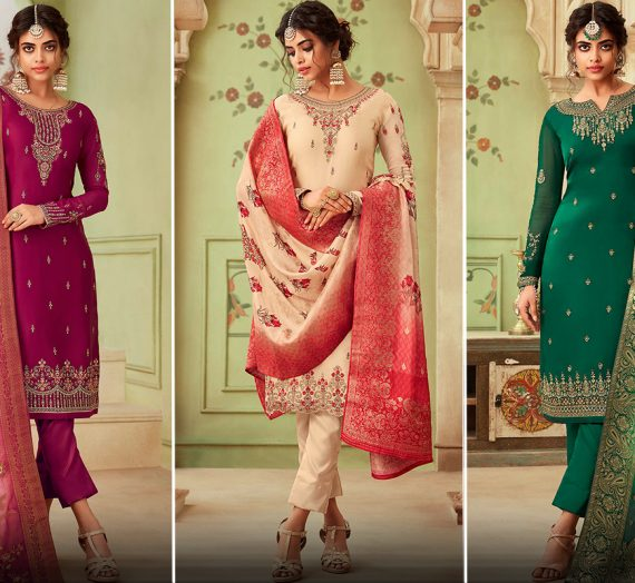 Different Types of Embroidery Pakistani Suits