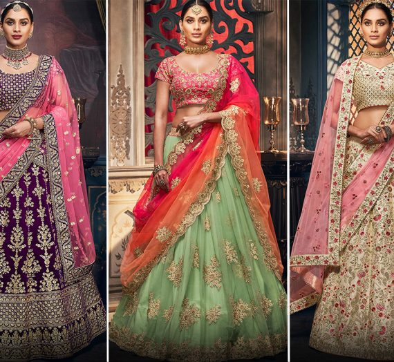 How to Dress according to Your Body Shape – Buy the Perfect Lehenga Choli Online