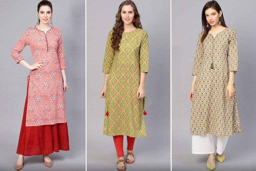 kurti style pakistani suits