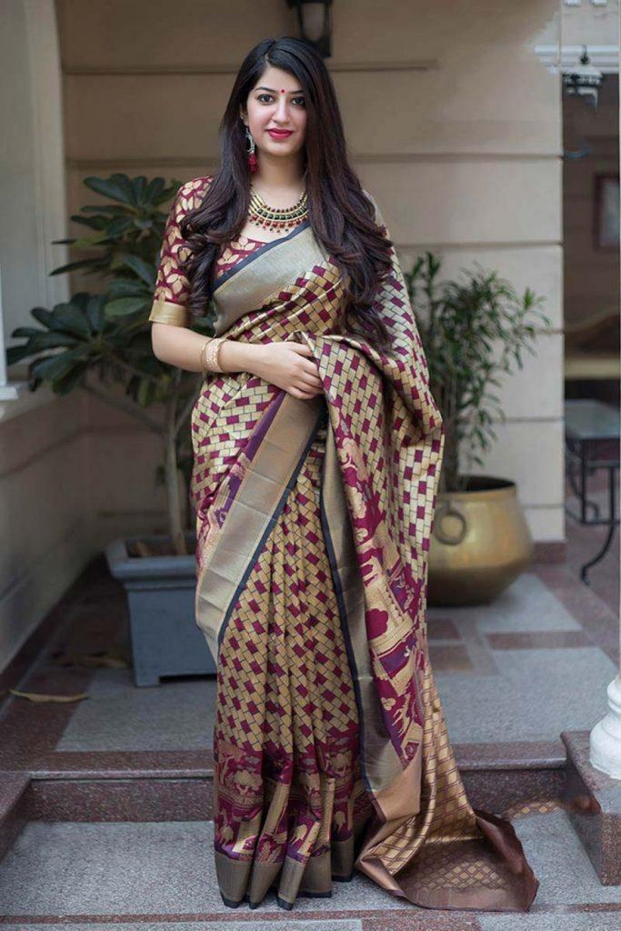 silk sarees online uk - shopkund