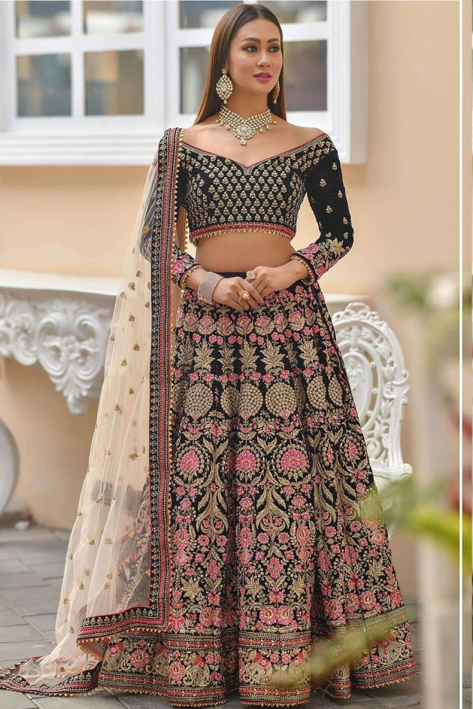 wedding lehenga choli online uk - shopkund