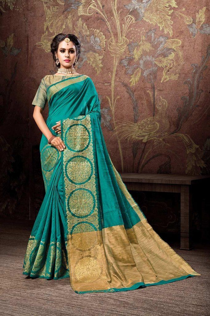 Cotton & Silk Saree Collection UK