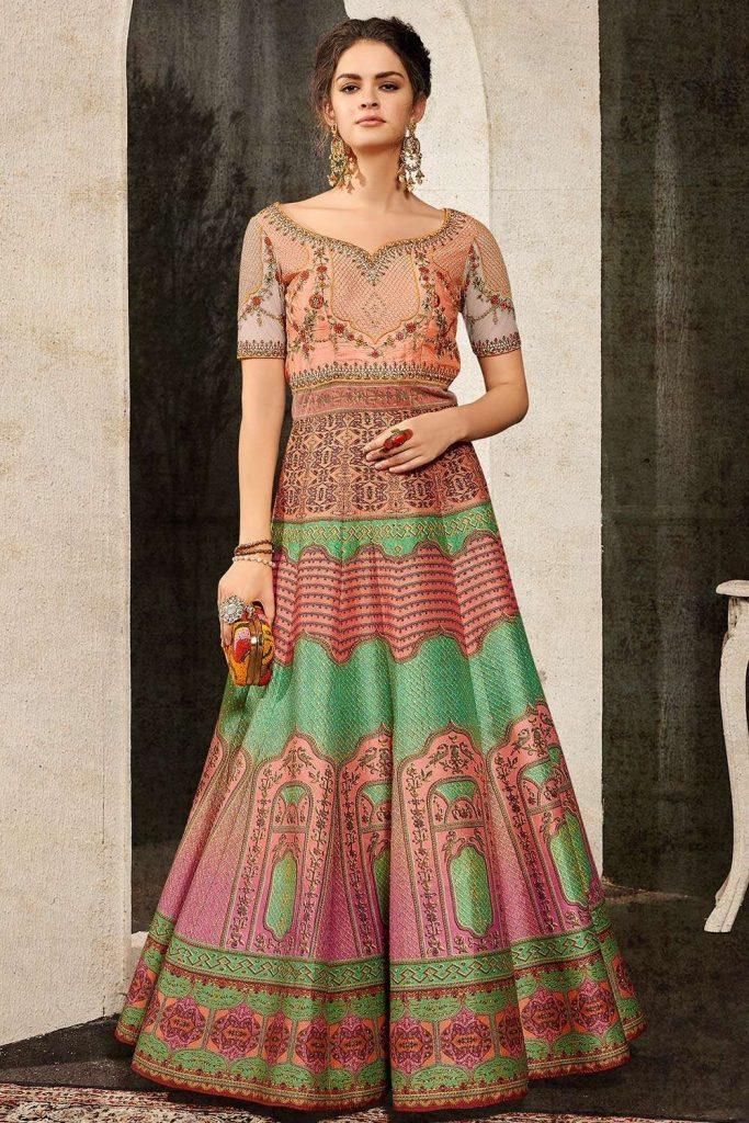multi color wedding dresses - shopkund uk