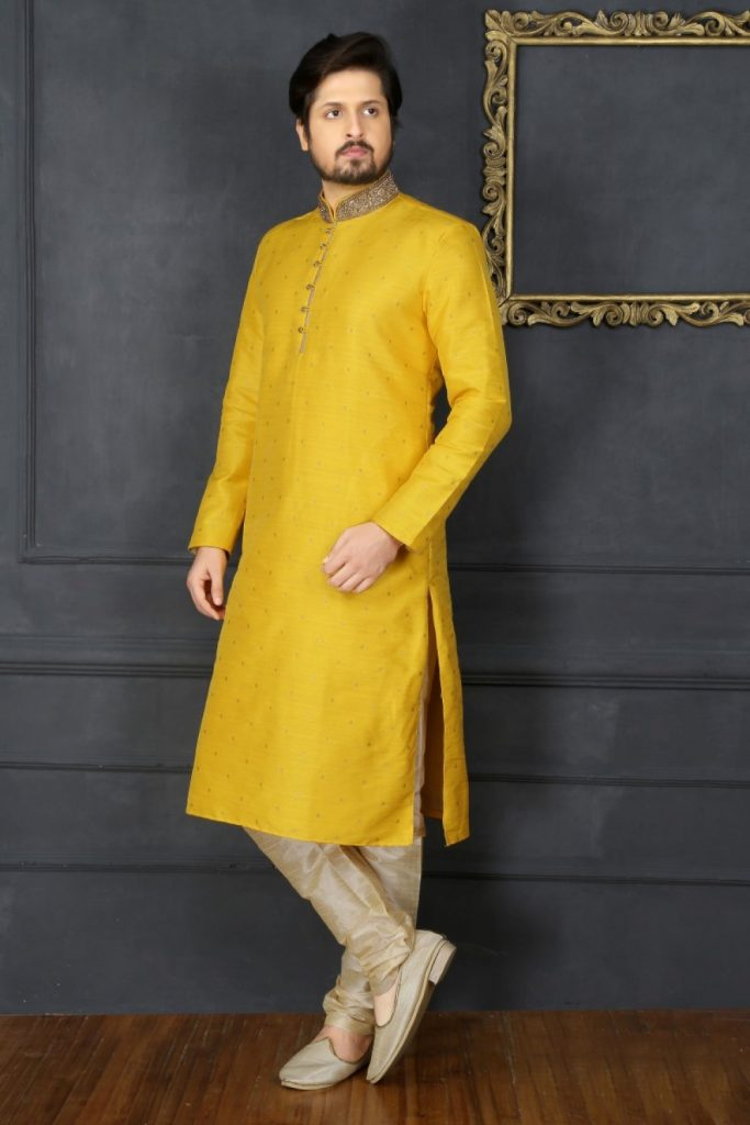 Lime Kurta Pyjama Online UK - Shopkund