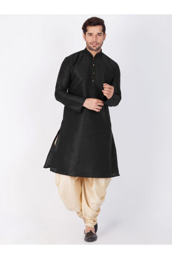 Black Pathani Suit Online UK - Shopkund