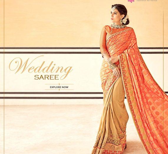Importance of Designer Wedding Sarees Online UK