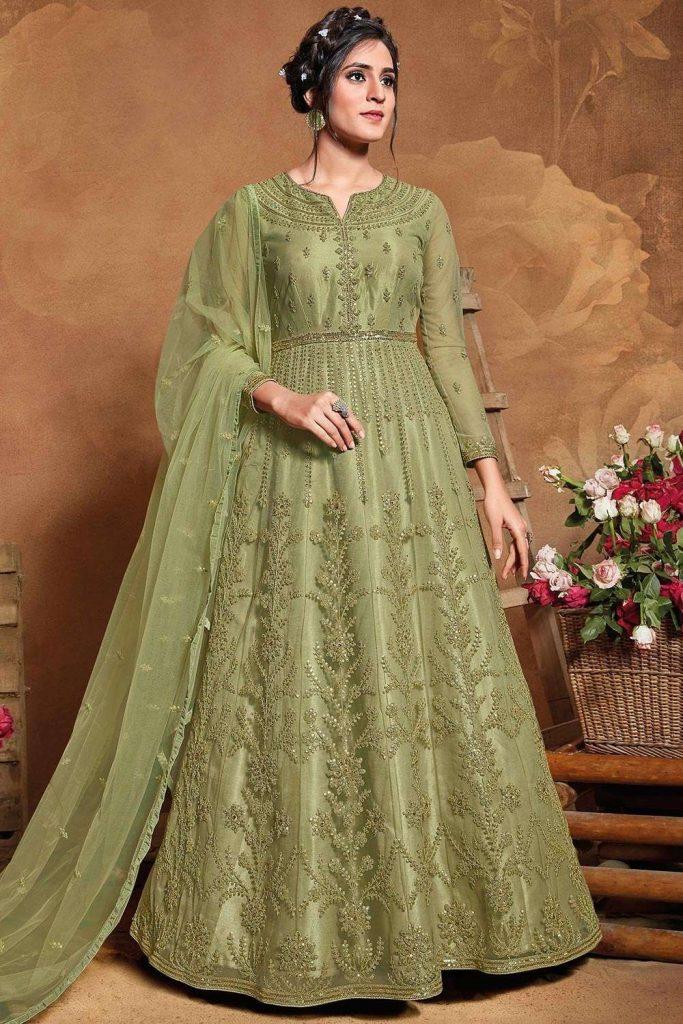 Wedding Anarkali Suits - Shopkund